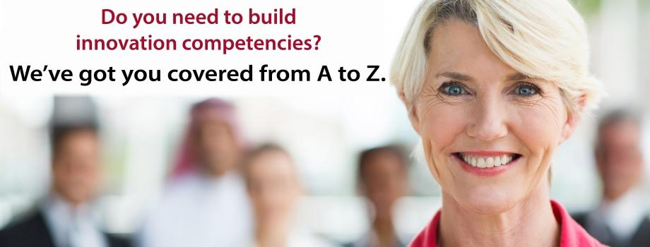 Build innovation competencies from A to Z