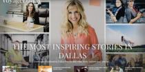 Voyage Dallas Magazine - Featuring Debra and William Miller